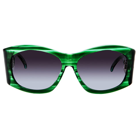 Christian Roth Sunglasses - Power Chic - in green transparent