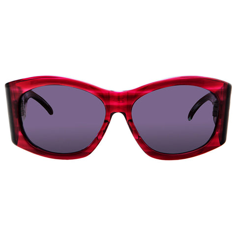 Christian Roth Sunglasses - Power Chic - in red transparent
