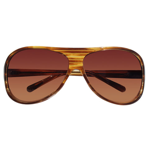 Christian Roth Sunglasses - Prêt à piloter - in honey colored marble