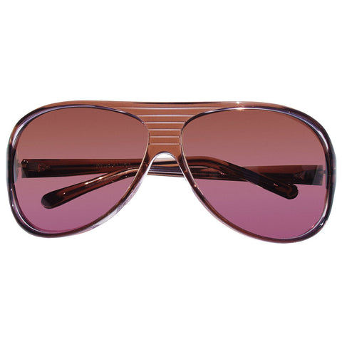 Christian Roth Sunglasses - Prêt à piloter - in translucide brown and violet transparent