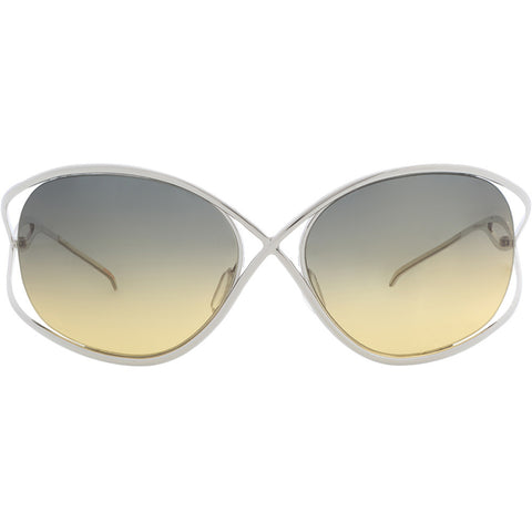 Christian Roth X-treme in Silver front – iconic titanium sunglasses Tom Ford got inspired