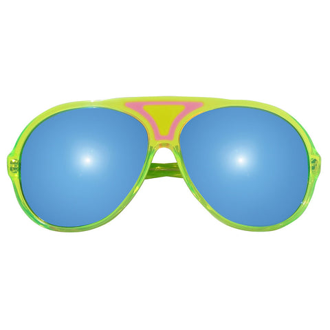 Christian Roth Sunglasses 2014 Christian's Own in Fluo Green front