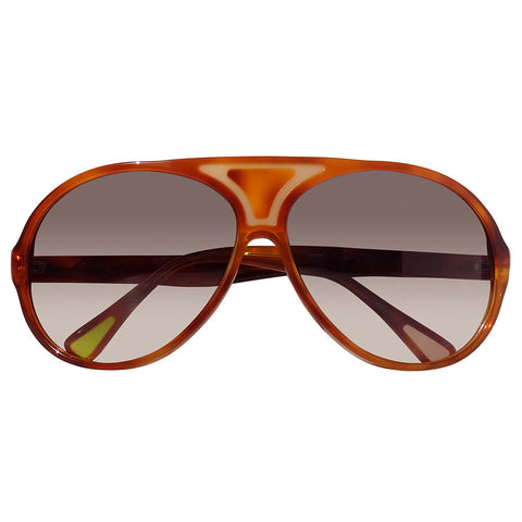 Christian Roth Sunglasses 2014 Christian's Own in Butterscotch Brown front