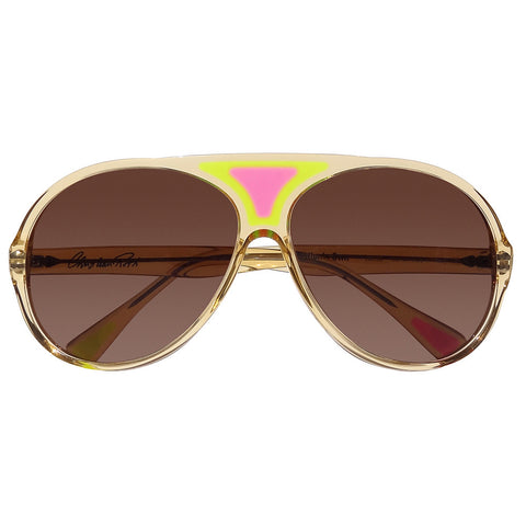 Christian Roth Sunglasses 2014 Christian's Own in Camel Crystal front