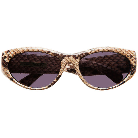 "Christian Roth Sunglasses for Optical Affairs ""Series 5000"" Genuine Python"