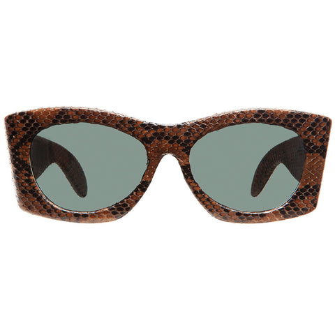 christian-roth-sunglasses-for-optical-affairs-series-6000-genuine-brown-reptile-luxury-vintage