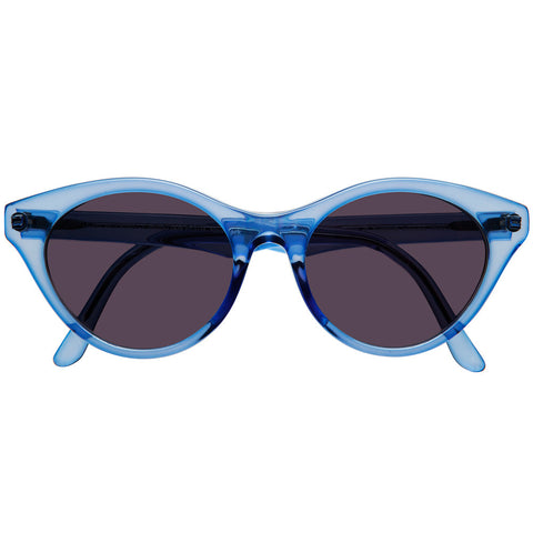 "Christian Roth Sunglasses for Optical Affairs ""H 685"" in blue transparent"