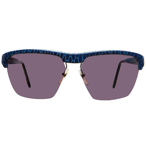 "Christian Roth Sunglasses for Optical Affairs ""Series J"" Genuine Blue Reptile"