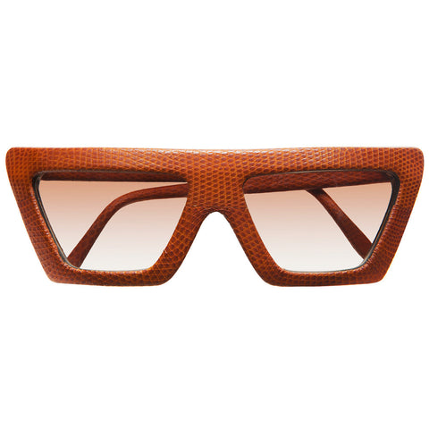 christian-roth-sunglasses-for-optical-affairs-series-kl-2-in-genuine-brown-lizard-skin-luxury-vintage