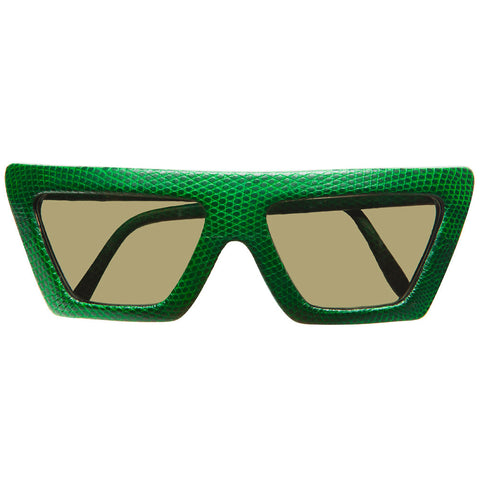 christian-roth-sunglasses-for-optical-affairs-series-kl-2-in-genuine-green-lizard-skin-pure-luxury