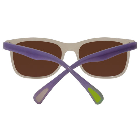 Christian Roth Sunglasses 2014 Eric's Own in Ivory Beige with Lavender Temples back