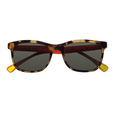 Christian Roth Sunglasses 2014 Eric's Own in Tortoise with Tangerine Temples