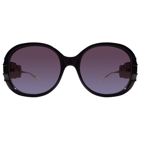 Christian Roth Sunglasses - Belles of Embellishments - in black front