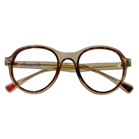 Christian Roth Optical Eyeglasses 2014 Cortina in Camel Crystal