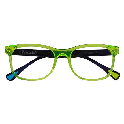 Christian Roth Optical Eyeglasses 2014 Eric's Own in Fluo Green with Black Temples