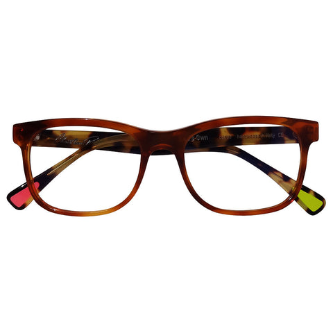 Christian Roth Optical Eyeglasses 2014 Eric's Own in Honey Brown with Tortoise Temples