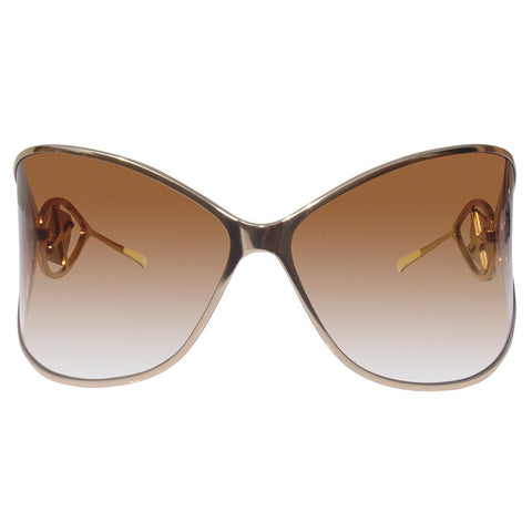 Christian Roth Titanium Sunglasses - Crystal Rocks - in gold front