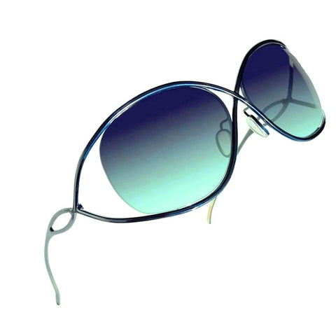 Christian Roth titanium sunglasses - X-treme - in emerald green right