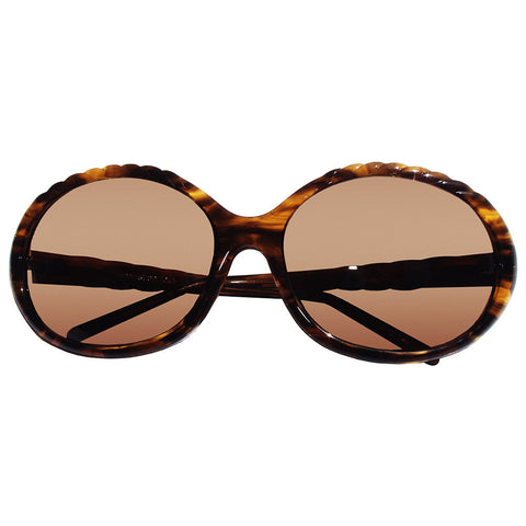 Christian Roth Sunglasses - Sun Goddess - in tortoise havana