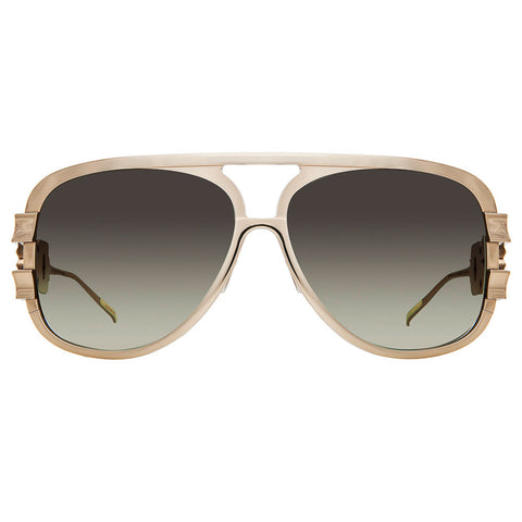 Christian Roth Sunglasses - Chains of Command - in gold