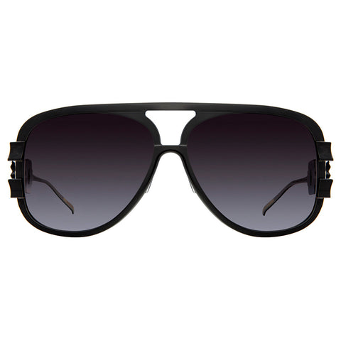 Christian Roth Sunglasses - Chains of Command - in black