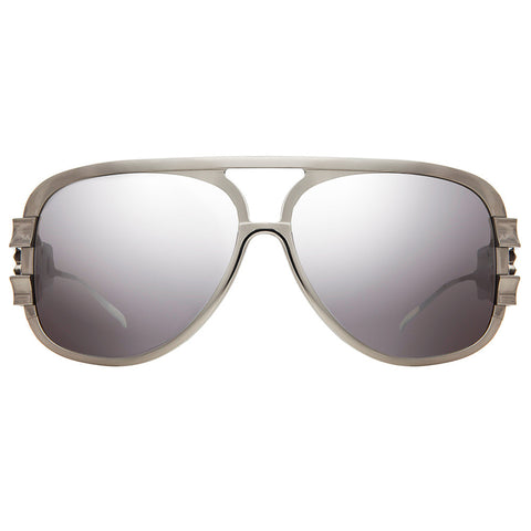 Christian Roth Sunglasses - Chains of Command - in silver