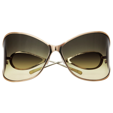 Christian Roth Sunglasses - Vision XXL - in gold