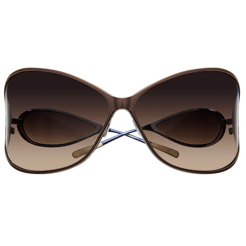 Christian Roth Sunglasses - Vision XXL - in light brown