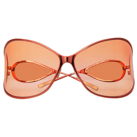 Christian Roth Sunglasses - Vision XXL - in burned orange