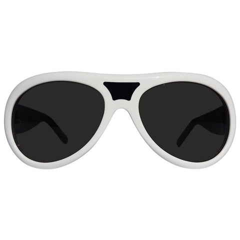 Christian Roth Sunglasses - Bridge Port - in black and white front