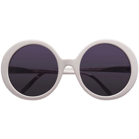 Christian Roth white sunglasses