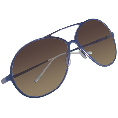Christian Roth Sunglasses - The Aviator - in Blue
