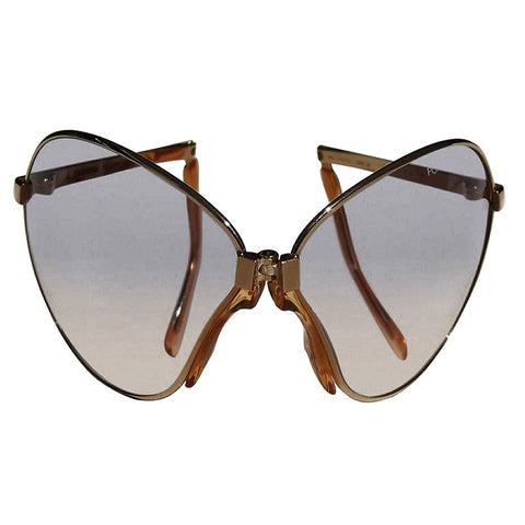 Vintage Folding Aviator sunglasses by Porsche Carrera for Christian Roth Shop