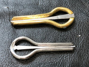 Cased jews harp Steel and Brass - great for beginners