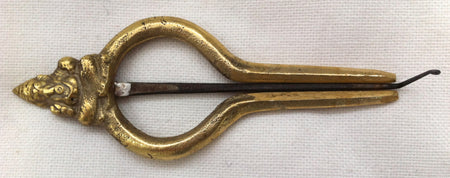 Brass Nepalese JEWS HARPS - Large - Sound For Health  - 1