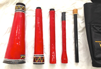 Dr Didge TravelDoo - AWESOME travel size multi-note didgeridoo!! - Sound For Health  - 4