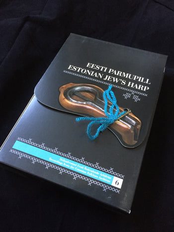 Jews harp tune book & CD - Estonian Parmupill