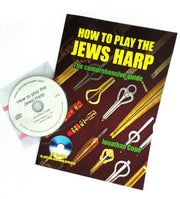 NEW - How to play the JEWS HARP / jaw harp. Complete tuition with CD - Sound For Health  - 1