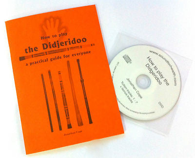 Play the didgeridoo - tuition pack offer - book & CD! - Sound For Health