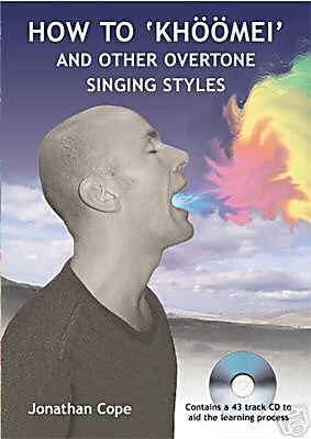 Throat singing Book & CD, khoomei, overtone singing - Sound For Health