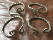 Celtic Iron Age/Viking - 'Warrior' arm ring/bracelet. Hand-forged for re-enactors.