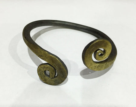 Celtic Iron Age/Viking - 'Warrior' arm ring. Hand-forged for reenactors.