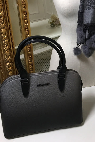 Tracy Ombre Grey and Black Handbag - LadyVB   s.r.o - 1