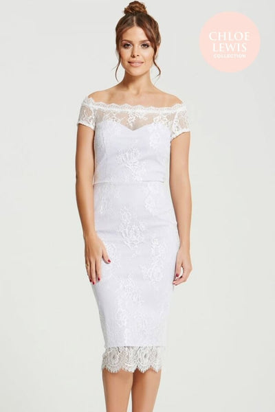 Harper Lilac Lace Dress - LadyVB   s.r.o - 4