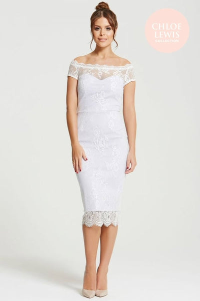 Harper Lilac Lace Dress - LadyVB   s.r.o - 2
