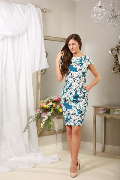 Floral Tulip Dress - LadyVB   s.r.o - 3