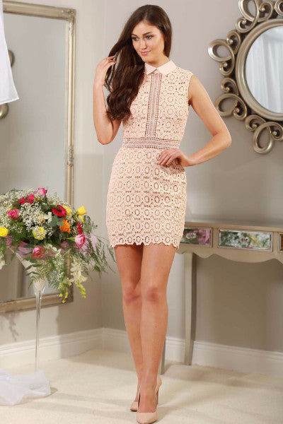 Rose Applique Dress - LadyVB   s.r.o - 1
