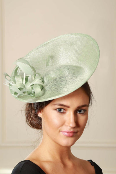 Mint Jane Fascinator - LadyVB   s.r.o - 1
