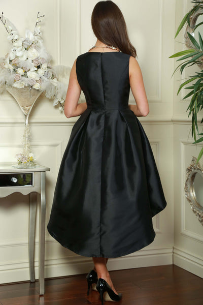 Black Dip Back Dress - LadyVB   s.r.o - 3