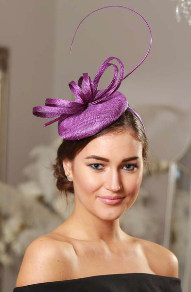 Holly Purple Fascinator - LadyVB   s.r.o - 3